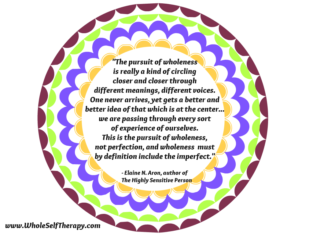 Perfection and The Pursuit of Wholeness